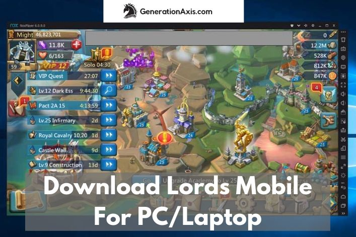 Lords Mobile for PC and Laptop